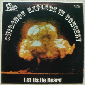 CHICANOS EXPLODE IN CONCERT - Let us be heard - LP
