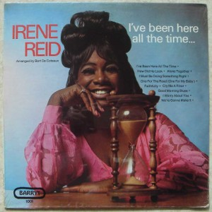 IRENE REID - I've been here all the time - LP
