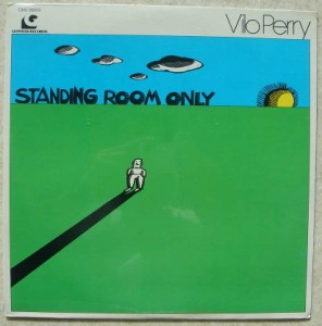 VILO PERRY - Standing room only - LP