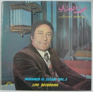 MOHAMED EL EZZABI - Live recording vol. 2 - LP
