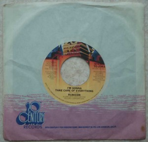 RUBICON - I'm gonna take care of everything / That's the way things are - 7inch (SP)