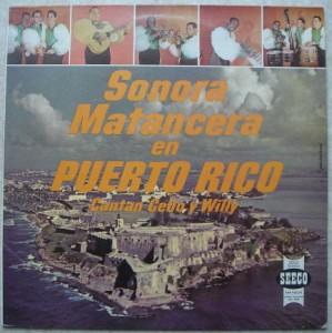SONORA MATANCERA - En Puerto Rico - LP