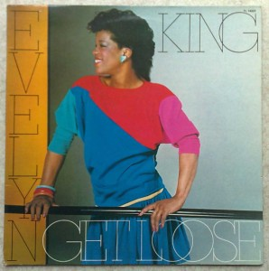 EVELYN KING - Get loose - LP