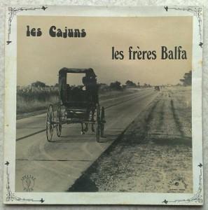 LES FRERES BALMA - Les cajuns - LP