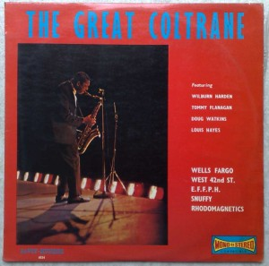 JOHN COLTRANE - The Great Coltrane - LP