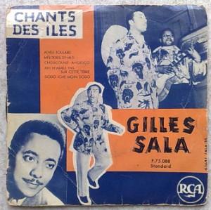 GILLES SALA - Chants des iles - 7inch (EP)