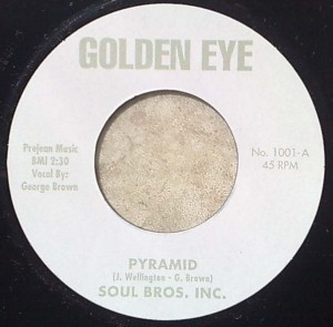 SOUL BROS. INC. - Pyramid / Capricorn XL 2 - 7inch (SP)