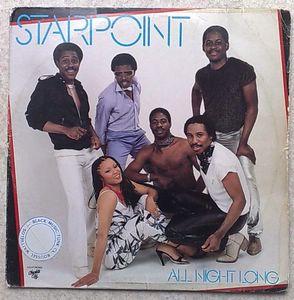 STARPOINT - All night long - LP