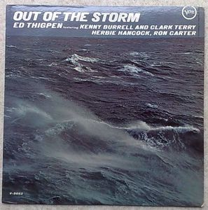 ED THIGPEN - Out of the storm - LP