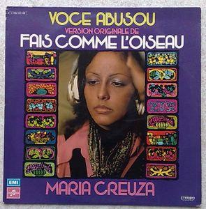 MARIA CREUZA - Voce abusou - LP