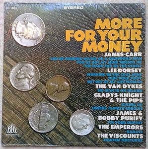 VARIOUS (JAMES CARR, LEE DORSEY, THE EMPERORS, THE - More for your money - LP