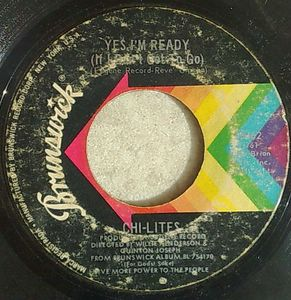 CHI-LITES - Yes I'm ready / Have you seen her - 7inch (SP)