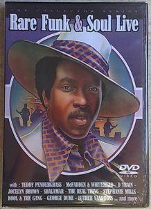 VARIOUS - Rare Funk & Soul live - DVD