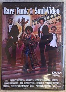 VARIOUS - Rare Funk & Soul video - DVD