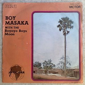 BOY MASAKA WITH THE BOYOYO BOYS - Moon / Draai veld - 7inch (SP)