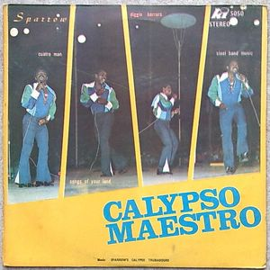 MIGHTY SPARROW - Calypso maestro - LP