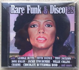 VARIOUS ARTISTS (JEFF TYZIK, DONI HAGAN, KHMISTRY, - Rare Funk & Disco 22 - CD