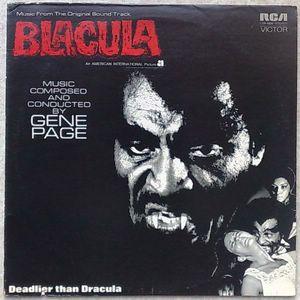 GENE PAGE - Blacula - LP