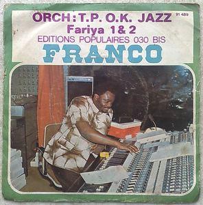 ORCHESTRE TP OK JAZZ - Fariya 1 & 2 - 7inch (SP)