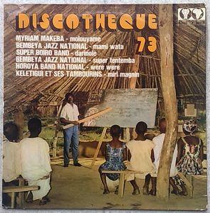 VARIOUS (BEMBEYA JAZZ NATIONAL, SUPER BOIRO BAND,… - Discotheque 73 - LP