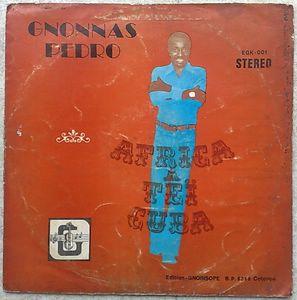 GNONNAS PEDRO - Africa tei Cuba - LP