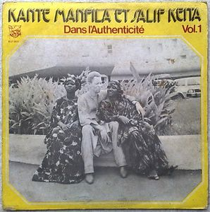 KANTE MANFILA ET SALIF KEITA - Dans l'Authenticite Vol 1 - LP