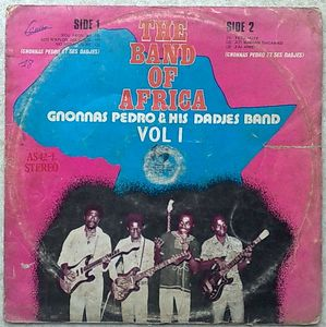 GNONNAS PEDRO AND HIS DADJES BAND - Vol 1 - LP