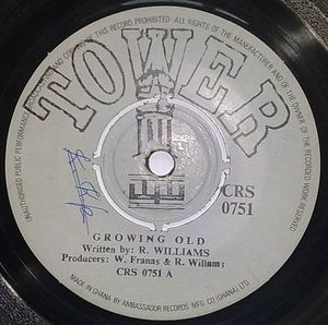 R WILLIAMS - Growing old / Emily - 7inch (SP)