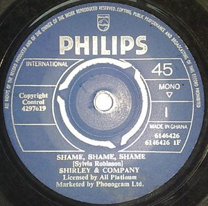 WHATNAUTS BAND - Shame, shame, shame / Soul walking - 7inch (SP)