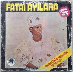 FATAI AYILARA AND HIS APALA GROUP - Eringokealo - LP