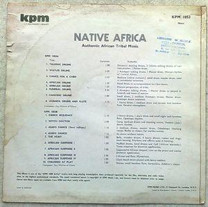 GUY WARREN OF GHANA - Native Africa - LP