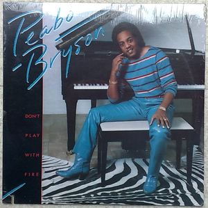 PEABO BRYSON - Don't play with fire - LP