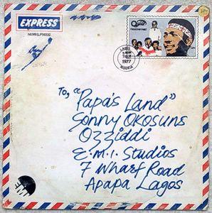 SONNY OKOSUN - Papa's land - LP