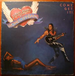RICK JAMES - Stone city band - LP