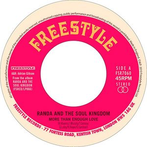 RANDA & THE SOUL KINGDOM - More than enough love - 7inch (SP)