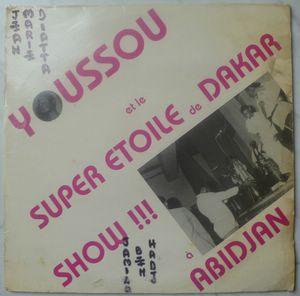 Youssou N'Dour et Le super etoile de Dakar Show a Abidjan