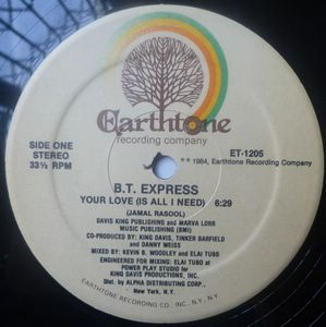 BT EXPRESS - Your love (is all I need) - 12 inch 33 rpm
