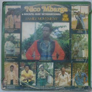 PRINCE NICO MBARGA & ROCAFIL JAZZ INTERNATIONAL - Family movement - LP