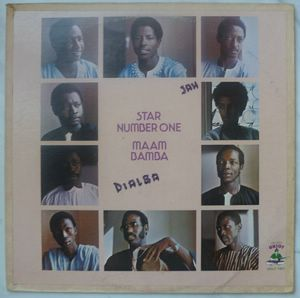 STAR NUMBER ONE - Maam bamba - LP