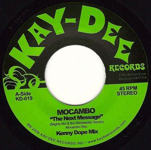 MOCAMBO - The Next message - 7inch (SP)