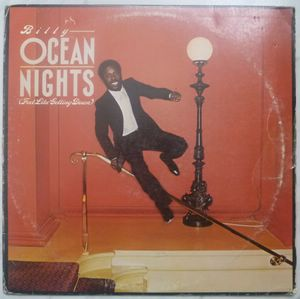BILLY OCEAN - City limit - LP