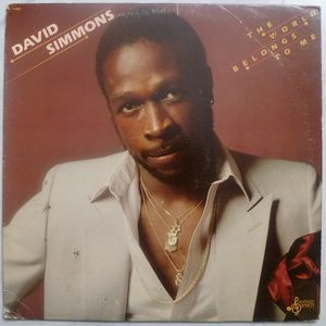 DAVID SIMMONS - The world belongs to me - LP