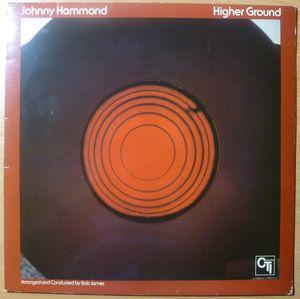 JOHNNY HAMMOND - Higher ground - LP