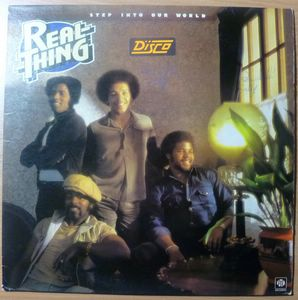 REAL THING - Step into our world - LP