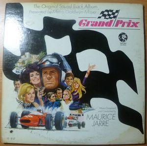 MAURICE JARRE - Grand prix - LP Gatefold