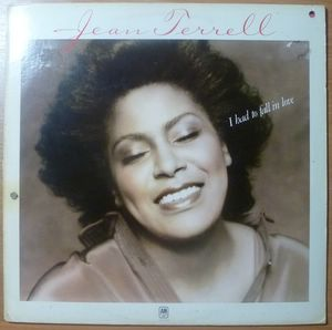 JEAN TERREL - I had to fall in love - LP