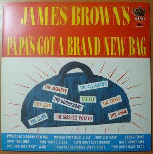 JAMES BROWN - Papa's got a brand new bag - LP