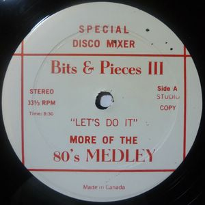 VARIOUS - Bits & Pieces III - Let's do it - 12 inch 33 rpm