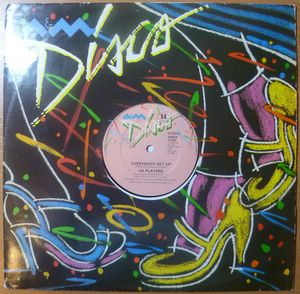 UK PLAYERS - Everybody get up / Rivers - 12 inch 33 rpm