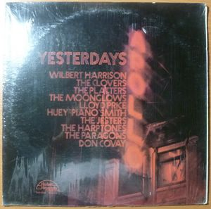 VARIOUS (THE CLOVERS, THE PLATTERS, LLOYD PRICE,…) - Apollo yesterdays - LP